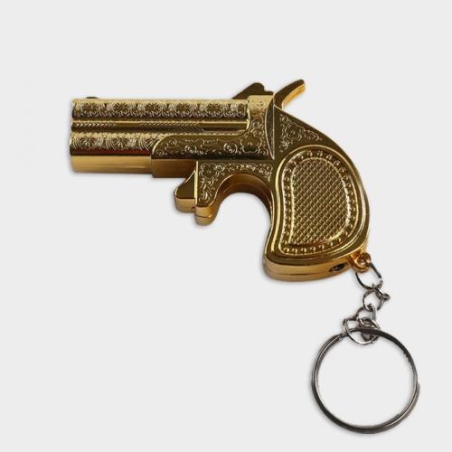 Зажигалка «Золотой пистолет», газ, 7.3х5 см 1124132