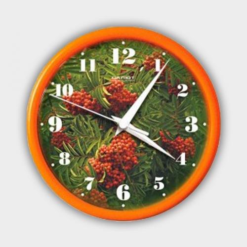 Часы настенные ПЕ - Б2.1 - 236 РЯБИНА