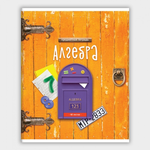 "Тетрадь предметная 48л. ArtSpace ""Ключ к знаниям"" - Алгебра."