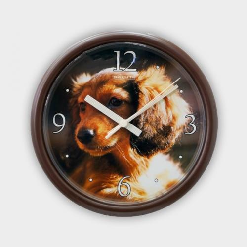 Часы настенные ПЕ - Б1.2 - 205 СОБАКА2