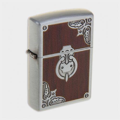 Зажигалка «Дверная ручка» в подарочной коробке, с кремнием, бензин