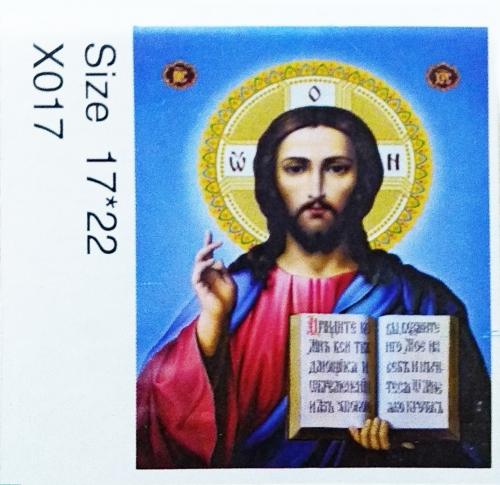 Алмазная вышивка 17 х 22 см, X017