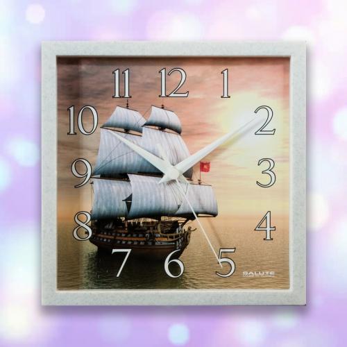 Часы настенные ПЕ - А8 - 280 КОРАБЛЬ 1