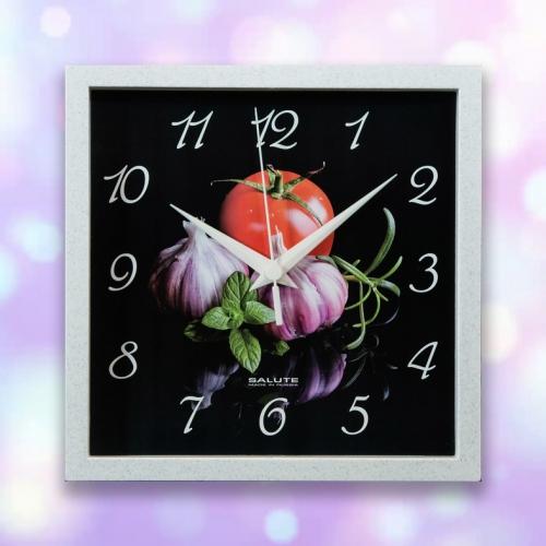 Часы настенные ПЕ - А8 - 252 ЧЕСНОК